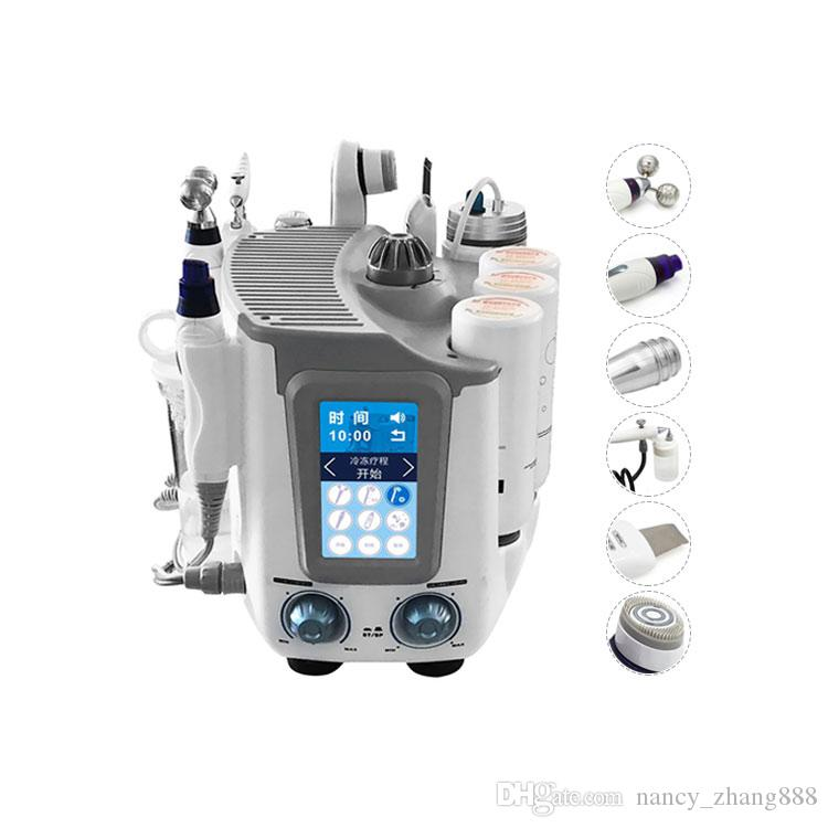 2019 New 7 In 1 Multidunction Dermabrasion Peel Machine Oxygen Skin Deep Cleaning Small Bubble Hydra Facial Machine For Skin rejuvenation
