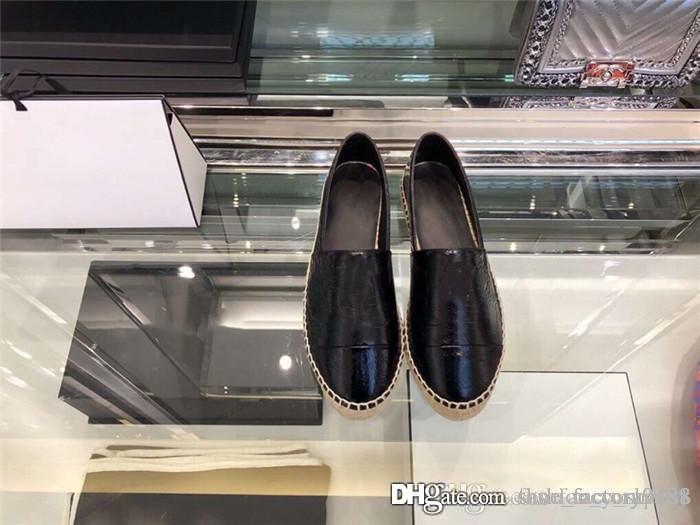 Enrugada patente couro pescador sapatos gado casaco de couro pintura com a mão pura - feita de palha sapatos de costura Tamanho 35-39