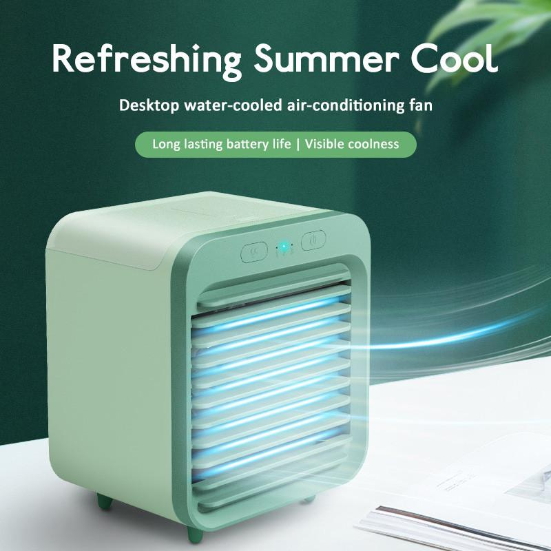Mini İklimlendirme Soğutma Yapay Masaüstü Soğutma Sprey USB Küçük Fan Öğrenci Ofisi Radyatör Fan Soğutucu Fan