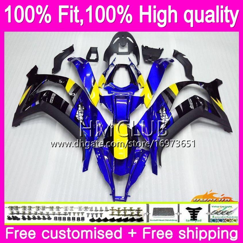 PRO INJECTION FAIRING KIT FOR KAWASAKI 2011-2015 ZX-10R ZX10R BLACK