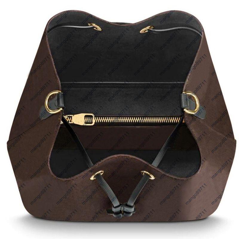 حقائب نسائية المحافظ Bucketbag جودة عالية حقيبة الكتف جلدية crossbodybodyags سيدة حقيبة محفظة حمل الحقائب