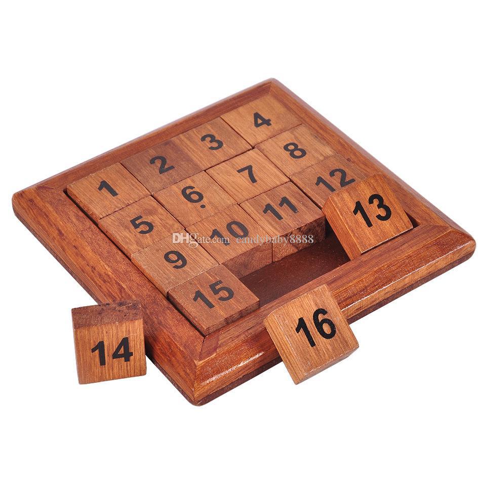 Children Learning Education Giocattoli giochi di numeri in legno Puzzle giocattoli della scuola primaria studenti di matematica Building Blocks C1231