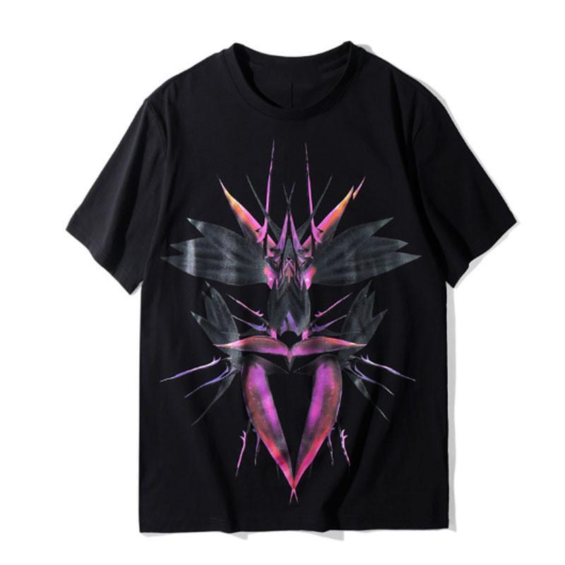 20ss Erkek T Shirt Moda New Men Kısa Kollu Erkek Baskı Tees Boyut S-2XL
