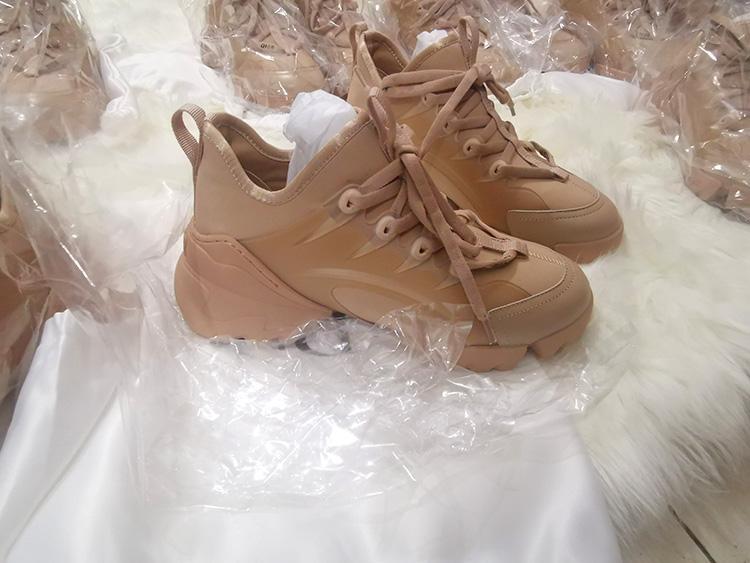 scarpe casual di lusso uomo unisex D-connect scarpe da ginnastica in neoprene donna pvc blocco colla trasparente