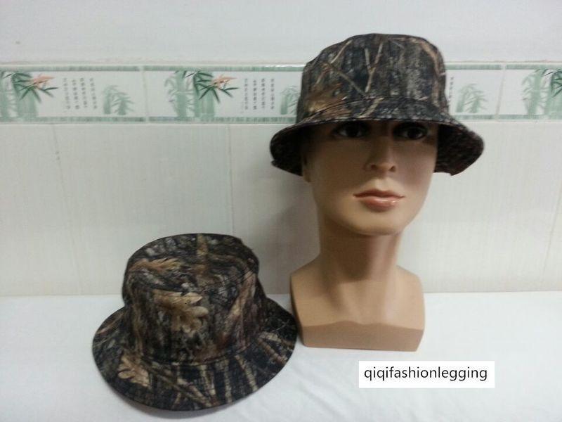 camuffamento della giungla modello invisibile uomini di pesca Pescatore e il sole la protezione solare cappello bacino corsa esterna delle donne