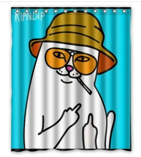 Rip N Dip Custom Bathroom Shower Curtain Y200108