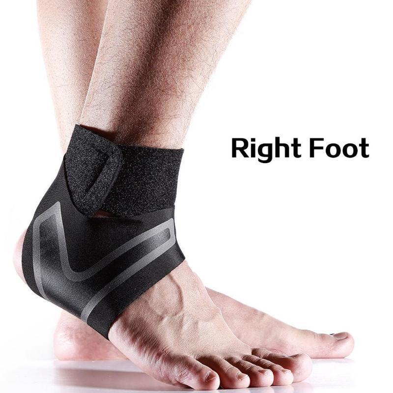 1PCS Esporte Suporte tornozelo Elastic alta Proteger Sports Tornozelo Equipamento de Segurança Correndo Basketball Brace Suporte Chevillere