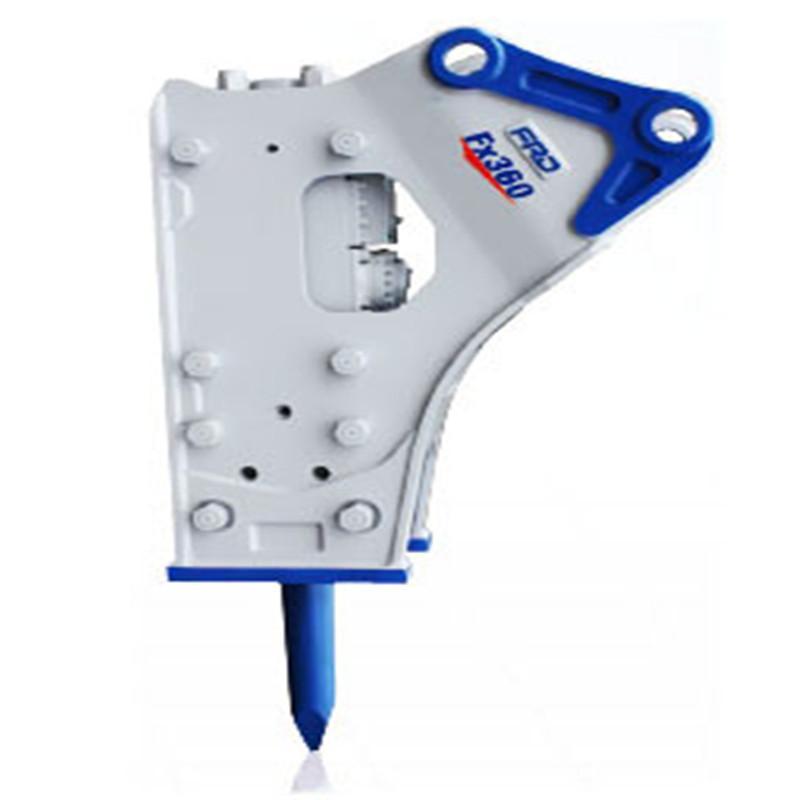 FX360 Hammer für Bagger und Lader Baumaschinen mit hydralic Antrieb