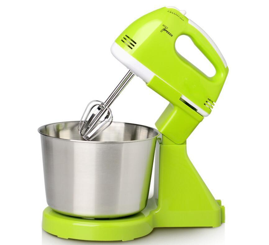 7 stand o costi a mano Frullino elettrico, Miracase 7-Speed Mixer Mano con Turbo da cucina Handheld Mixer Nero Verde 2L
