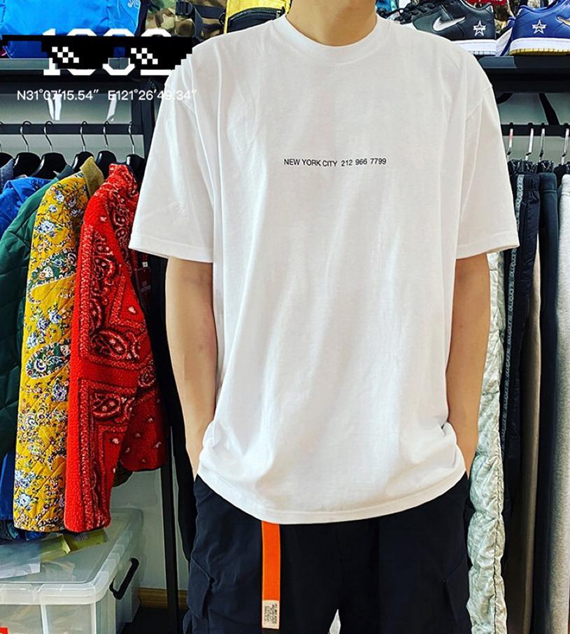 Fashion Designer Mens Summer Casual T Shirts Brand Box Log0 Letters Print Tee New York City New Shop Style S M L Xl Make Your Own T Shirts T Shirt Printers From