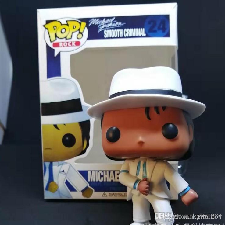Funko Pop Michael Jackson BEAT IT BILLIE JEAN BAD Action Figure Collectible