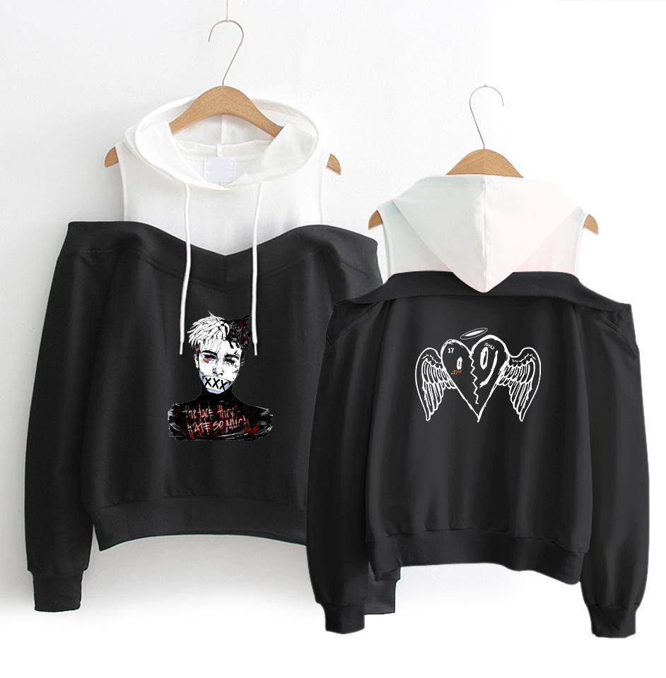 love enjoy Oversize XXXTentaction Hoodies Fashion Loose Chic Printing Sweatshirt Pullover Long-Sleeve Coat