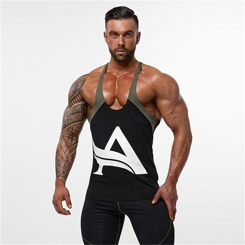 Yeni Erkekler Tees Yaz Yeni Modal O Boyun Kısa Kollu T Shirt Erkekler Trendler Spor Tişörtlü Erkekler Yelek T -Shirt Tops