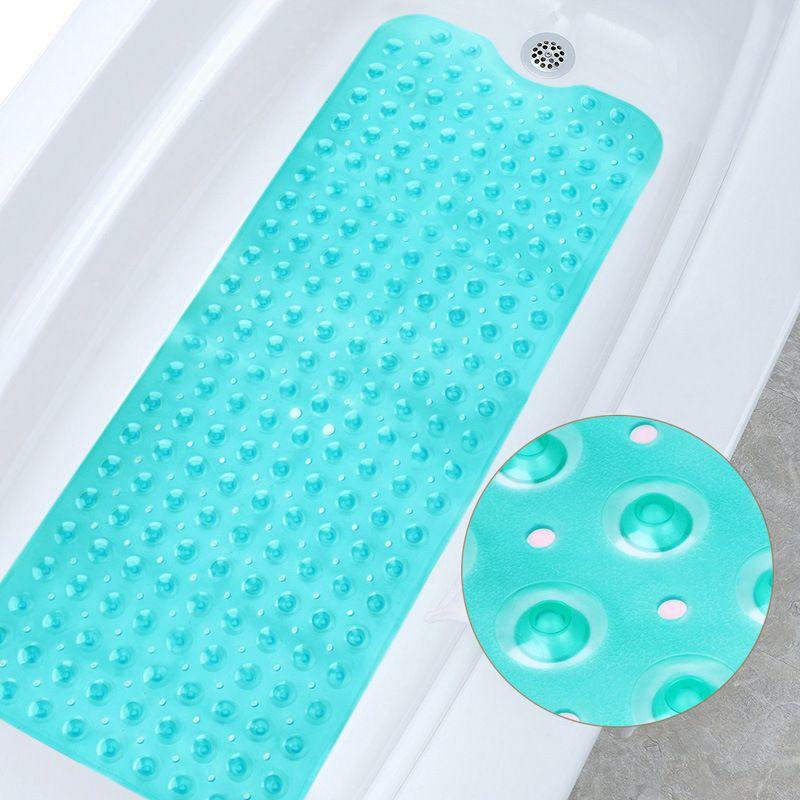 مستطيل 40x100 سنتيمتر pvc كبير المضادة للانزلاق حمام حصيرة الناعمة حمام التدليك حصيرة السجاد الالتصاق عدم الانزلاق متفوقة حوض السجاد