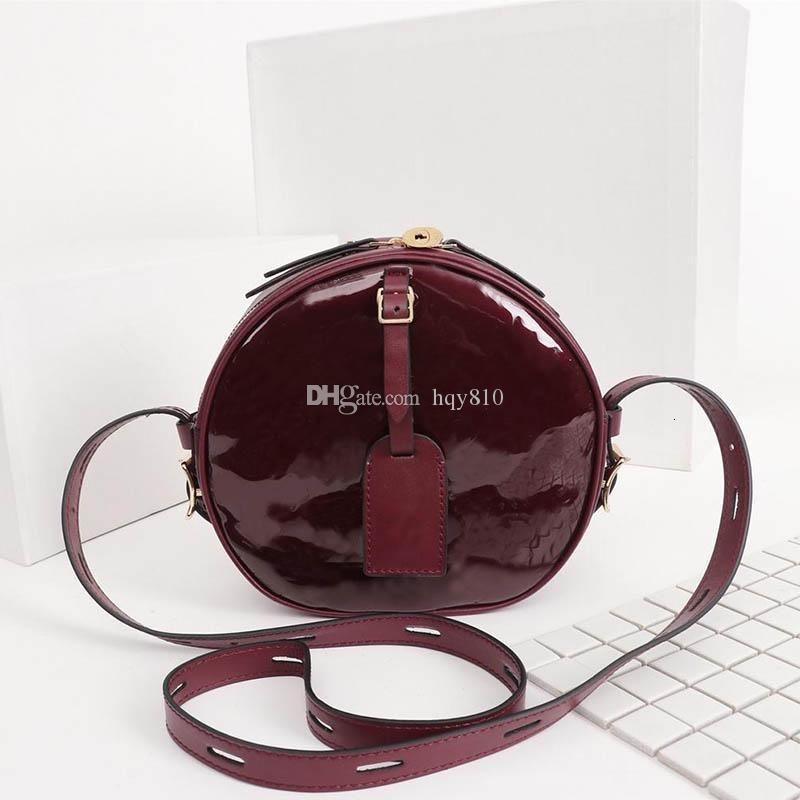 Crazy Cute Circular Shoulder Bags Fashion Casual Brand Designer Bags роскошные высококачественные женские сумки размер 20x22. 5x 8cm M52294
