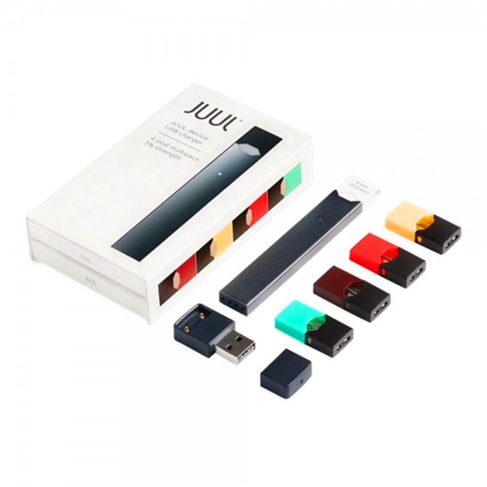 Juul Starter Kit Portable Vape Pen 4 Pods In One Pack Refillable Juul Pod  Cartridge With USB Charger Juul Starter Kit Electronic Vaporizer Starter  Kit