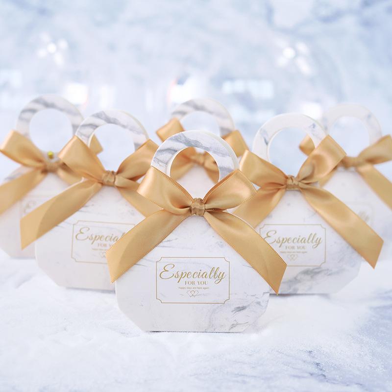 Düğün Favor Kutusu ve Düğün Bebek Çikolata Hediye Kutusu İçin Bebek Doğum Günü Düğün Arz için çantalar Tatlı Hediye Şeker Kutuları