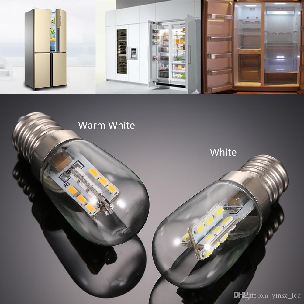 Мини-холодильник Светодиодная лампа с морозильной камерой Холодильник лампа Стекло лампы E12 Белый Теплый белый AC110 / 220V