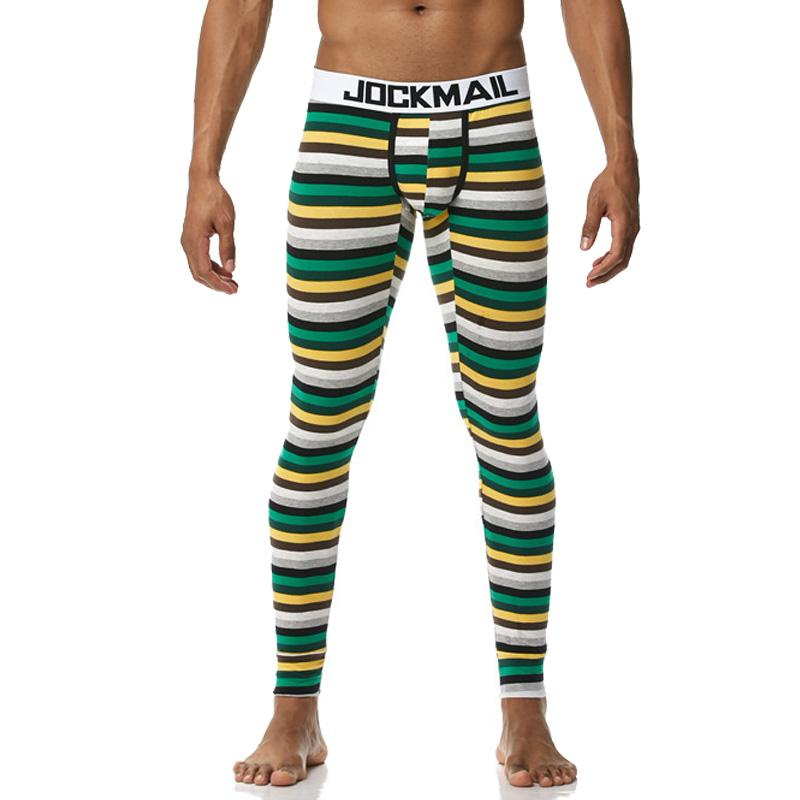 2021 JOCKMAIL Men Thermal Underwear Long Johns Pants Sexy Mens Bottoms  Pajama Low Rise Tights Legging Pouch Lounge Nightwear From City_world,  $28.42 | DHgate.Com