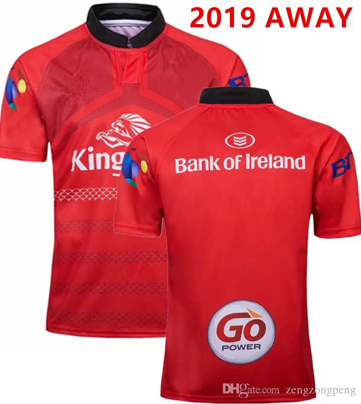 2020 ULSTER RUGBY AUSENTE JERSEY Ulster em casa e fora camisa Rugby Jerseys 18 19 ULSTER equipe nacional League tamanho Camisa S-L-3XL