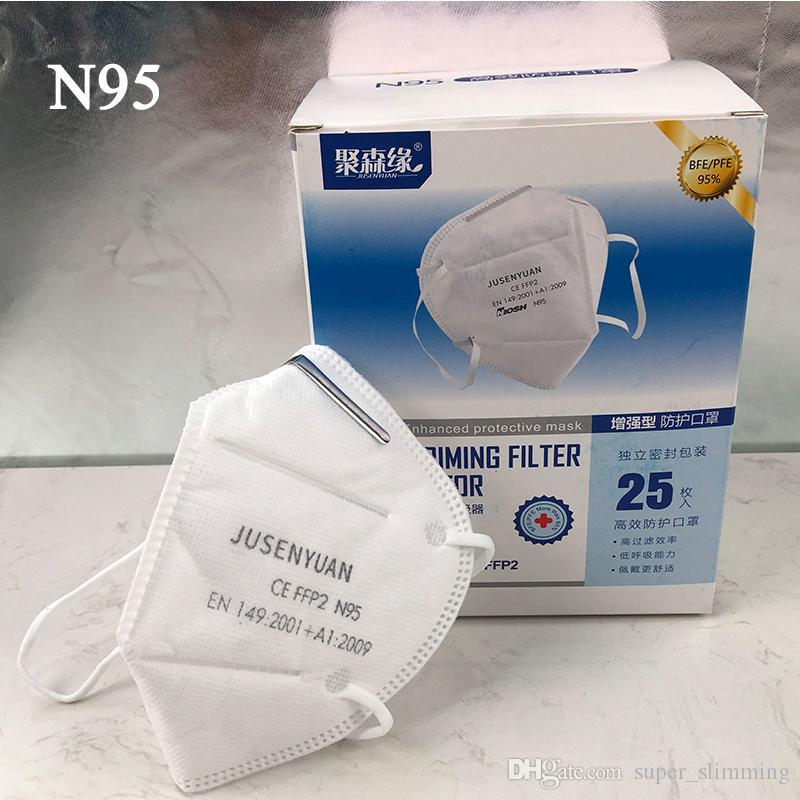 Disposable Dust Mask,Anti Dust Face Masks FFP2 with Filter//Respirator,Adjustable