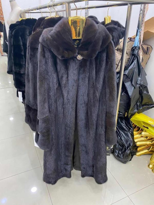 로즈 wishers 밍크 진짜 모피 코트 여성 겨울 천연 모피 밍크 코트와 재킷 여성 긴 따뜻한 빈티지 여성 옷 2020 B-8