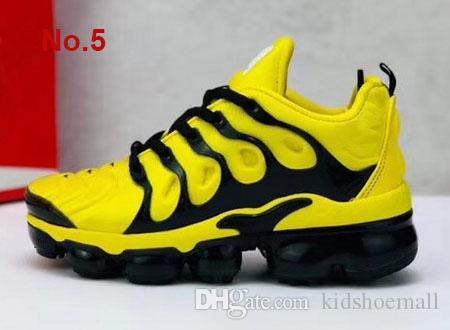 Großhandel Marke Kinder Dämpfe Sneakers Für Big Kid Plus Tn Trainer Kleine Jungen Laufschuhe Kleinkind Mädchen Sportschuh Kinder Sport Teenager