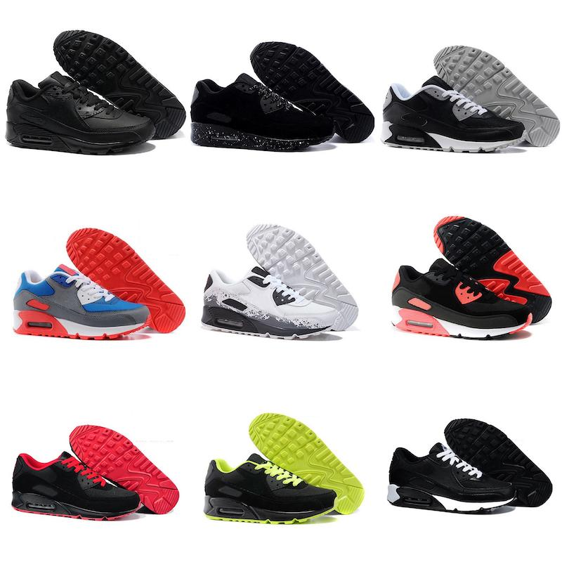 2019 New Air Cushion Casual Running Shoes Men Women Cheap Black White Red Sneakers Classic Air Trainer Outdoor Sports Shoes