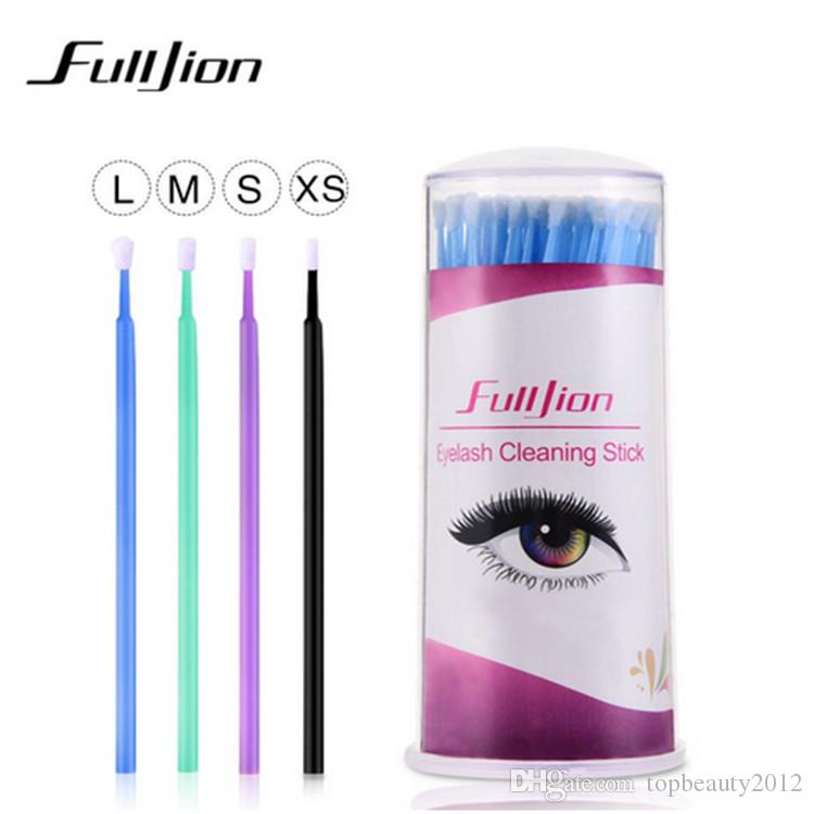 4 Barrels Per Lot Durable Micro Disposable Eyelash Extensions Private Label Individual Applicators Mascara Brushes For Women Beauty Tools
