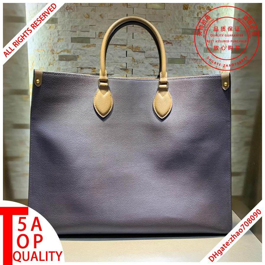 Tasarımcı çanta kutu B019 ile çanta kadın omuz çanta Banliyö çantası hakiki deri Tote Çanta tasarımcı cüzdan alışveriş kadınları onthego