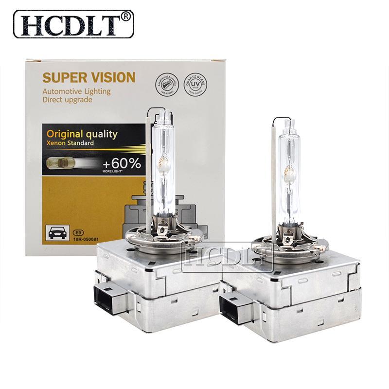 HCDLT Car Light Xenon HID D1S 55W ampoule 35W 6000K D3S ampoule xénon auto-phares 4300K 8000K 5000K HID D1S D3S lampe de remplacement