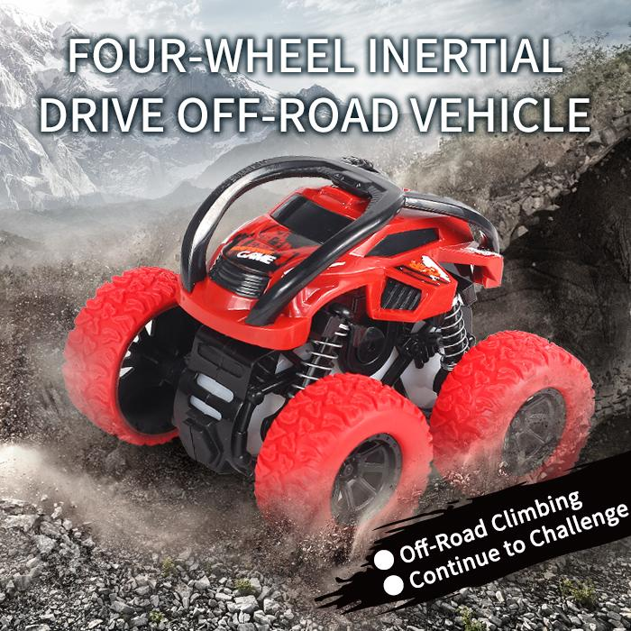 TW2005064 Dumping double inertia car-simulation style Friction Toys Four-wheel intertial drive off-road climbing vehicle shock absorbing spr