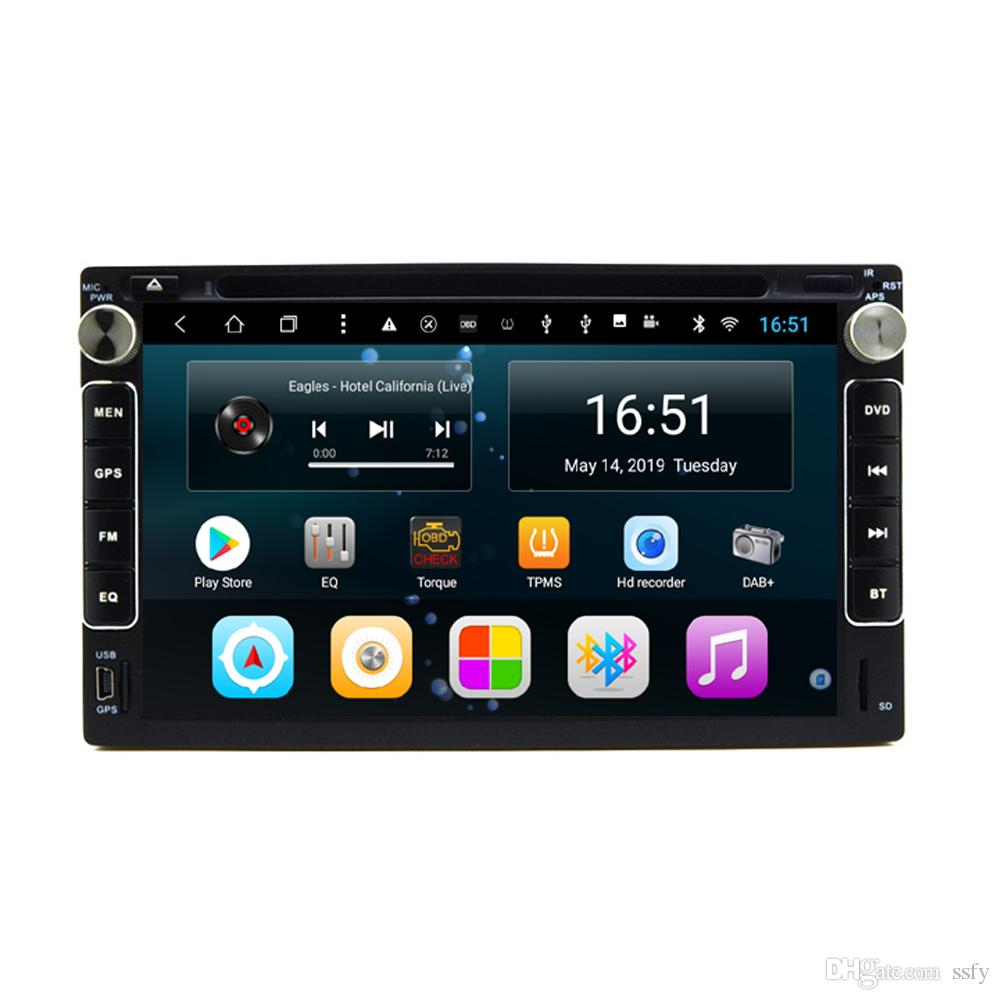 Android car player with radio AM FM precise GPS navigation Resolution HD 1024 * 600 microphone fast delivery for Chery tiggo A3 7inch