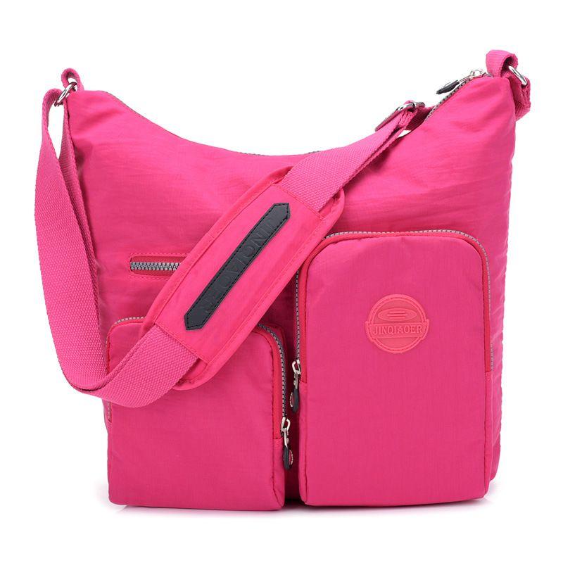 6095e813d163 ... Hot Nylon Multi-Pocket Crossbody Bag NeatPack Crossbody Bag for Women  with Anti Theft RFID ...