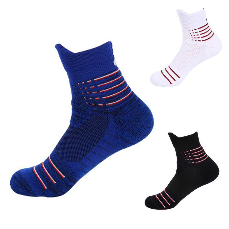 Unisex Outdoor Sports Climbing Letter Socks Running Cycling High Tube Socks