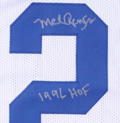 """Мел Ренфро подписал подписанный автограф подписывателя майки с надписью """" 1996 HOF"""""""