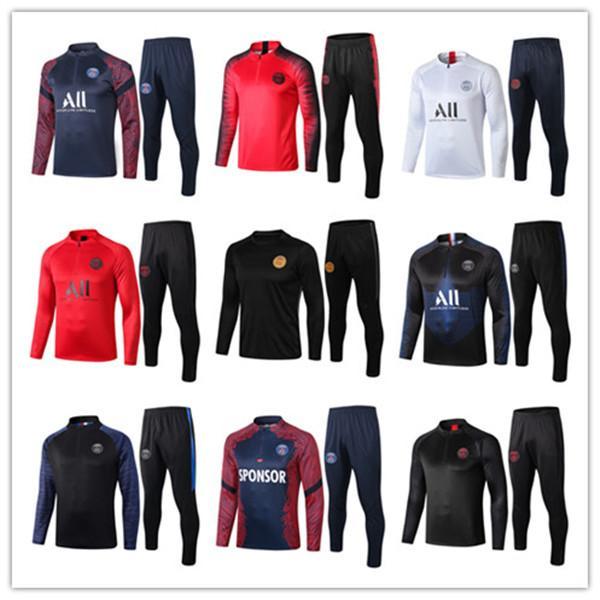 2019 2020 мужчины футбол обучение спортивный костюм Реал Мадрид футбол обучение костюм 2020 2021 Париж MBAPPE де ног survetement chandal Сиэтл марафон