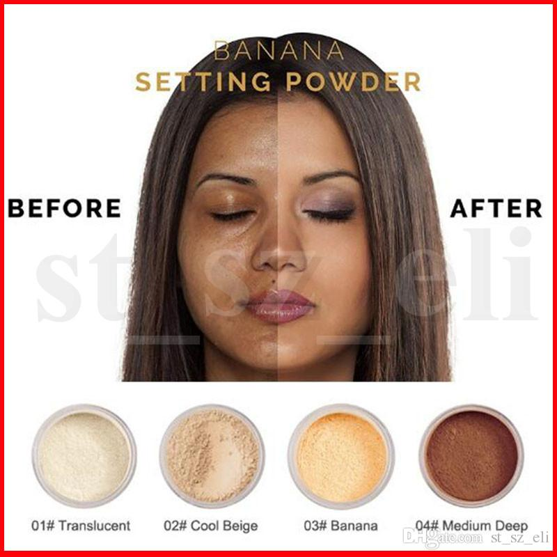 PHOERA Face Makeup Setting Powder Loose Face Powder Translucent Smooth Setting Foundation Professional Makeup Face Powder Maquiagem