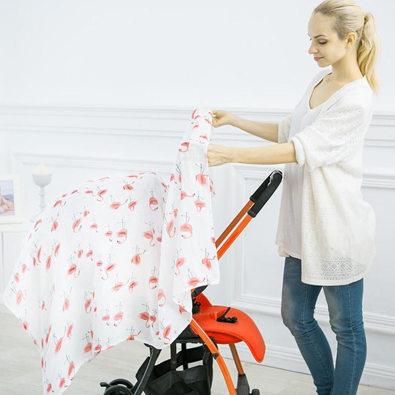 الشاش طفل الطفل الكرتون الفراش التقميط بطانية دافئة الوليد الرضع عدن 100٪ الخيزران الألياف منشفة قمط الطفل التفاف