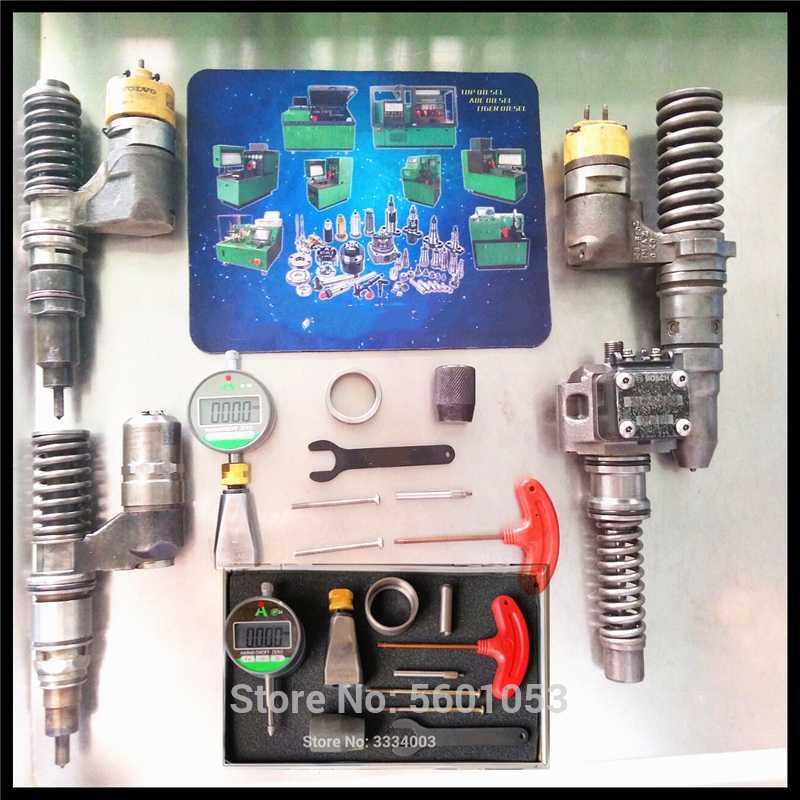 Per BOSCsH EUP pumpCAT C13 C15 C18 3512 EUI iniettore armatura ascensore e rimanente prova traferro misurazione strumenti di riparazione sedile