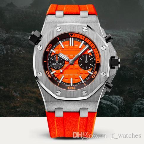 Orologio meccanico di alta qualità orologio da uomo orologio meccanico automatico 26703ST orologi sportivi impermeabili impermeabili da 30 metri