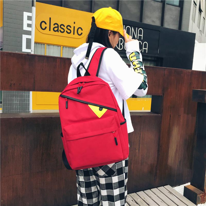 Designer-2019 New Little Monster Backpacks Student School Bags Backpacks Cartoon Bag