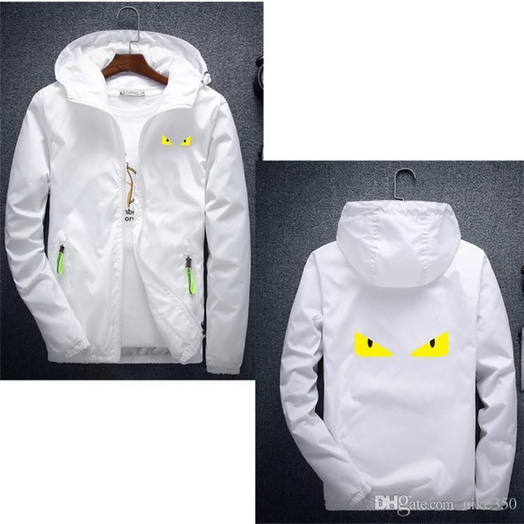 2020 High-End-Jacke der Männer der neuen Männer und Frauen der hochwertigen Buchstaben lässig Kurzarm Mode Herrenjacke gedruckt