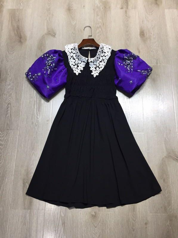 M0558 High quality New Fashion Women 2020 Summer Dress famous European Design party style dress