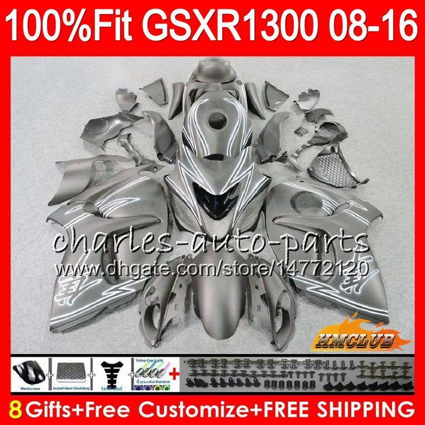Injectie voor Suzuki GSXR1300 Hayabusa 08 09 10 2009 2009 Matte Zwart 2010 25HC.12 GSXR 1300 GSXR-1300 11 12 13 2011 2012 2013 OEM FACKING