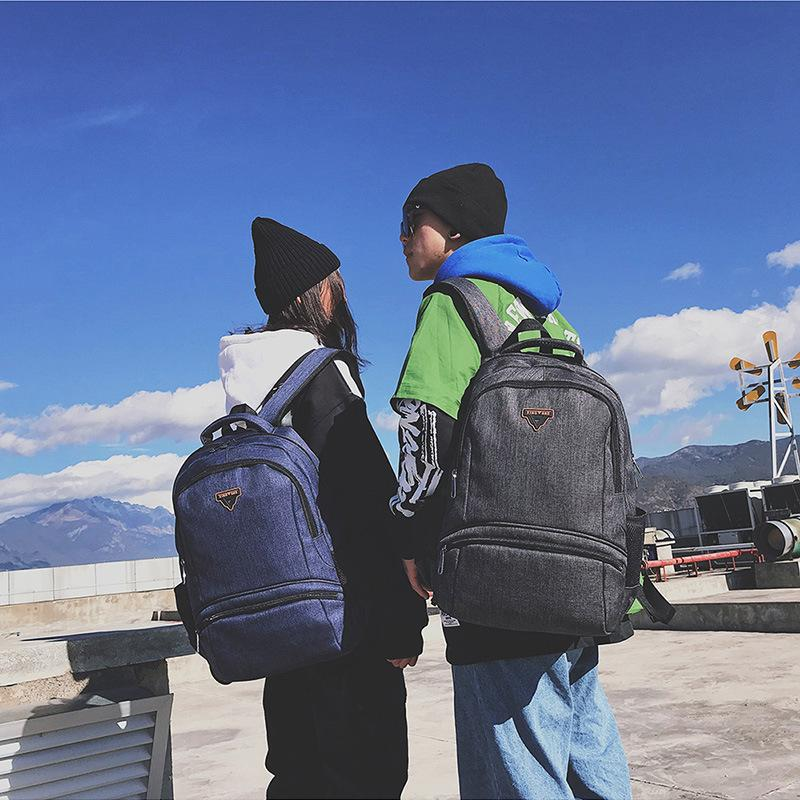 Charismatic2019 First High School Living A Bag Men And Women Both Shoulders Korean Fashion Backpack Travel Computer Package Book System