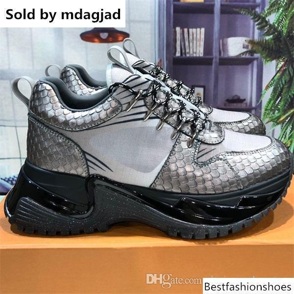 Neueste Runaway Pluse Turnschuhe Herren Designer Schuhe Frauen Zunehmende Höhe schnüren sich oben Turnschuhe Plattform-Schuhe mit Kasten Lll15