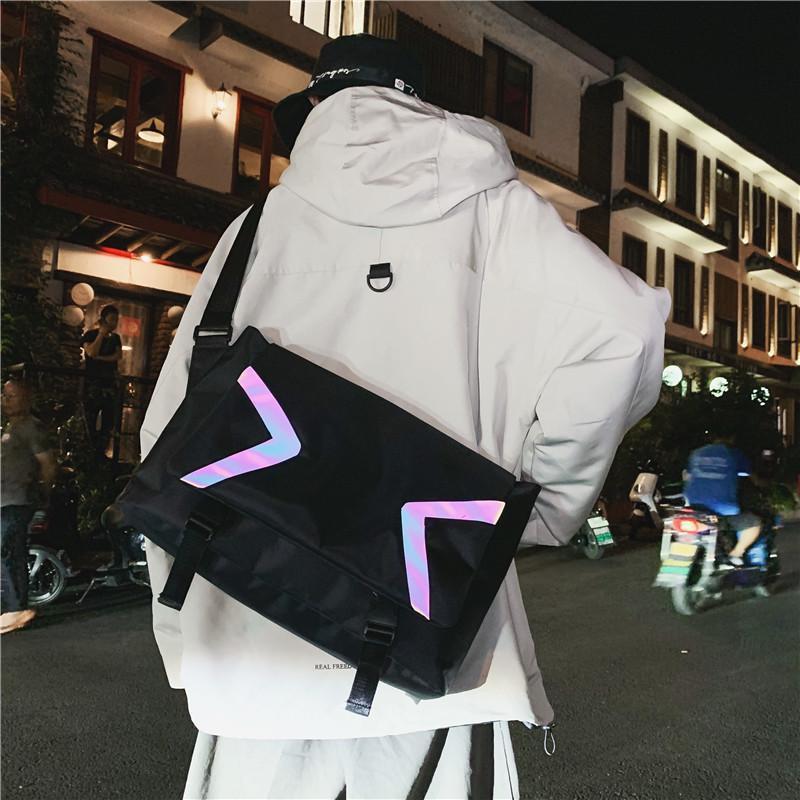 Bolsa de mochila de estilo de mujer Mochila de moda Noche de los hombres Sena coreana de estilo coreano Schoolbag Light New Casual Travel Algmd