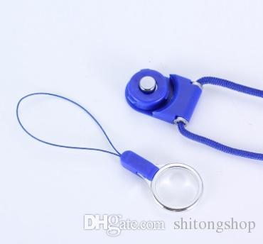 Teléfono móvil Cuello Cadena Correas Correas de la cámara Llaveros Llavero Charm DIY Cuerda para colgar Lariat Lanyard