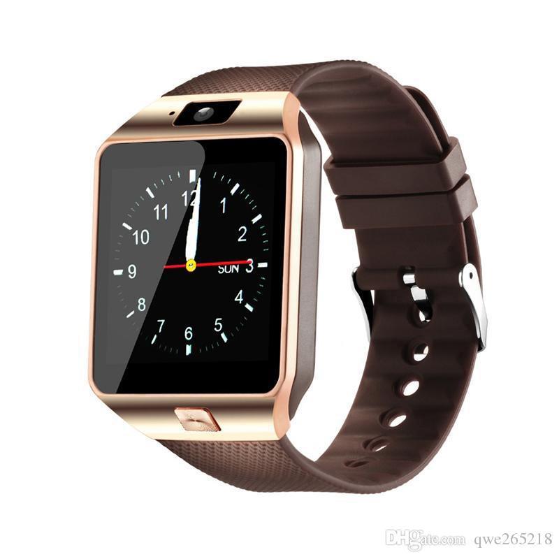 DZ09 스마트 시계 Dz09 블루투스 웨어러블 장치 시계 Smartwatch for Android 시계 전화 카메라 시계 GT08 U8 A1 004